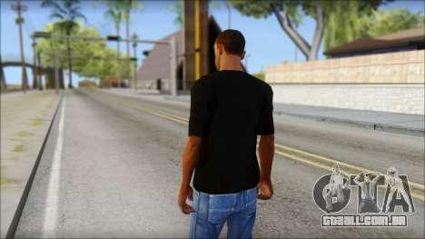 Infected Rain T-Shirt para GTA San Andreas segunda tela