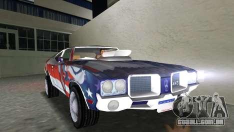 Oldsmobile 442 1970 v2.0 para GTA Vice City