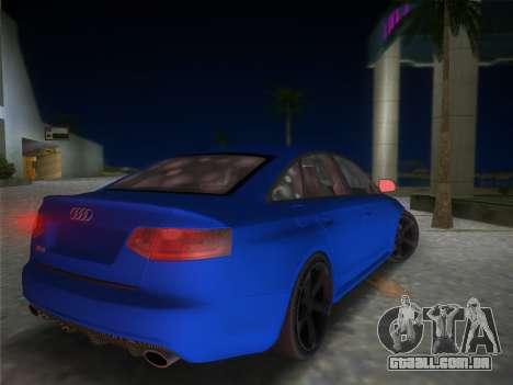 Audi RS6 para GTA Vice City deixou vista