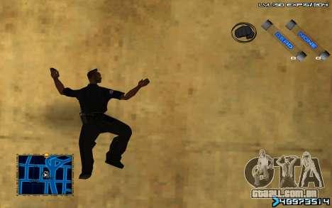C-HUD by SampHack v.6 para GTA San Andreas terceira tela