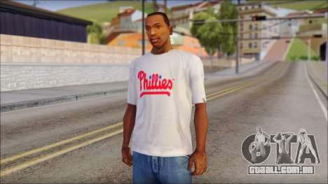 Phillies T-Shirt para GTA San Andreas