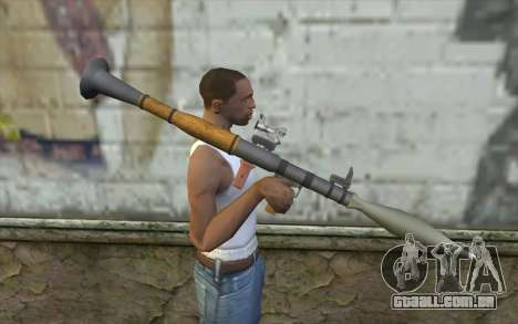 Lançador de foguetes AG7 para GTA San Andreas terceira tela
