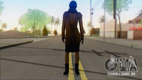 Ada Wong v2 para GTA San Andreas segunda tela