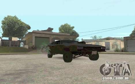 Interceptor para GTA San Andreas esquerda vista