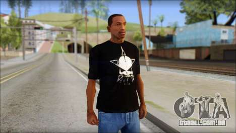 Infected Rain T-Shirt para GTA San Andreas
