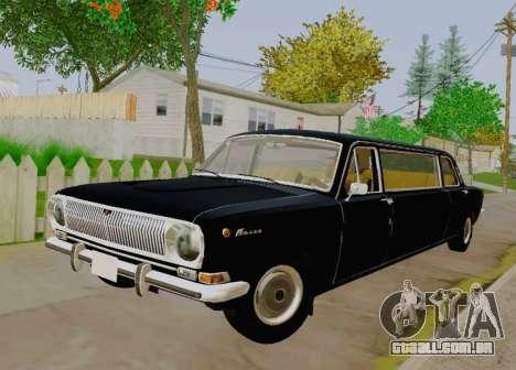 GÁS 24-01 de Limusina para GTA San Andreas