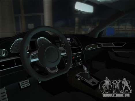 Audi RS6 para GTA Vice City vista direita