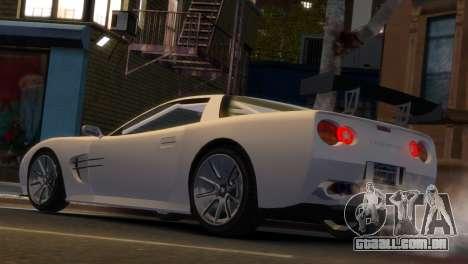 Coquette Racing para GTA 4 esquerda vista