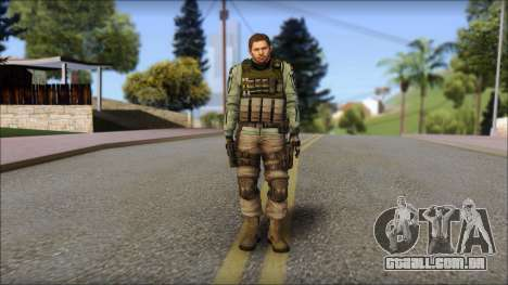 Chris Europa from Resident Evil 6 para GTA San Andreas