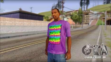 Dropdead T-Shirt para GTA San Andreas