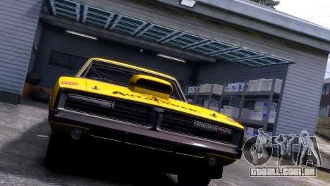 Dodge Charger RT 1969 EPM para GTA 4 vista interior