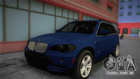 BMW X5 2009 para GTA Vice City