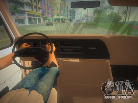 Ford E-350 1988 Cube Truck para GTA Vice City vista direita