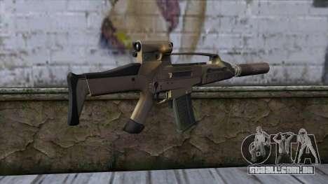 XM8 Compact Dust para GTA San Andreas segunda tela