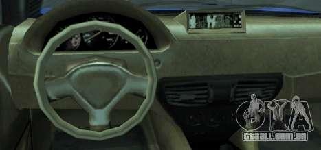Grotti Carbonizzare from GTA 5 para GTA San Andreas traseira esquerda vista