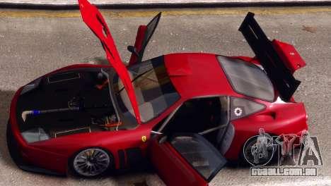 Ferrari 575 GTC para GTA 4 vista direita