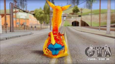 Bungalow the Kangaroo from Fur Fighters Playable para GTA San Andreas terceira tela