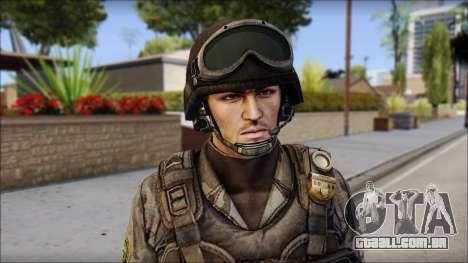 Urban GAFE from Soldier Front 2 para GTA San Andreas terceira tela