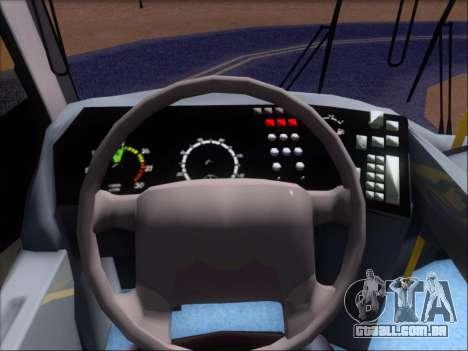 Neobus Mega BRT Volvo B12M-340M para GTA San Andreas vista inferior