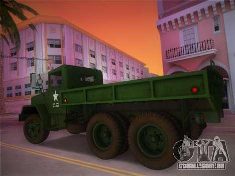 AM General M35A2 1986 para GTA Vice City deixou vista