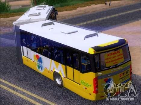 Прицеп Neobus Mega BHNS Volvo B12-340M para vista lateral GTA San Andreas