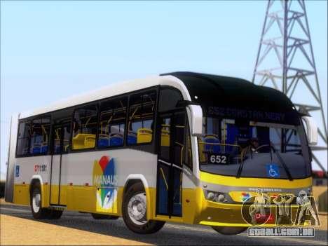 Neobus Mega BRT Volvo B12M-340M para GTA San Andreas vista traseira