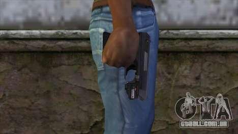 VP-70 Pistol from Resident Evil 6 v1 para GTA San Andreas terceira tela