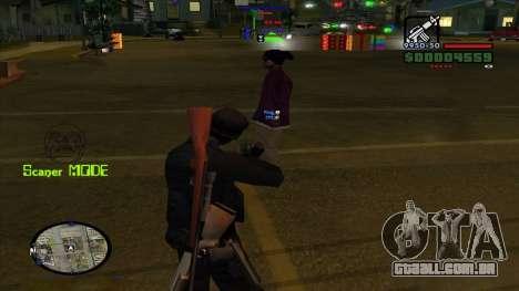 Indicators para GTA San Andreas terceira tela