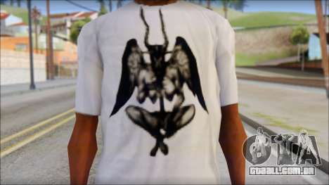 Silent Hill T-shirt para GTA San Andreas terceira tela