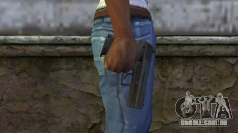 HK P2000 from CS:GO v1 para GTA San Andreas terceira tela