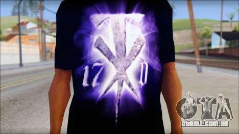 Wrestle Mania T-Shirt v1 para GTA San Andreas terceira tela