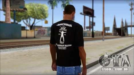 Chris Jericho Jerichohol T-Shirt para GTA San Andreas segunda tela