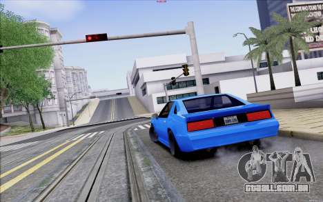 Buffalo Drift Style para vista lateral GTA San Andreas