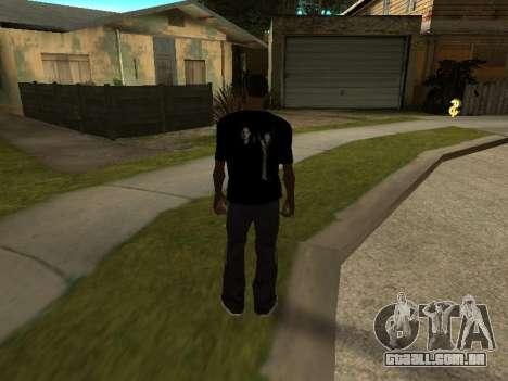 T-Shirt Sobrenatural para GTA San Andreas segunda tela