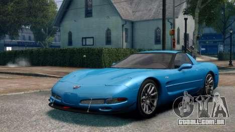 Chevrolet Corvette Z06 (C5) 2002 V3.0 [EPM] para GTA 4