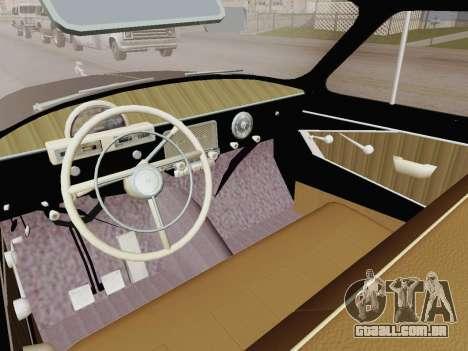 GAZ 21 de Limusina para GTA San Andreas vista direita