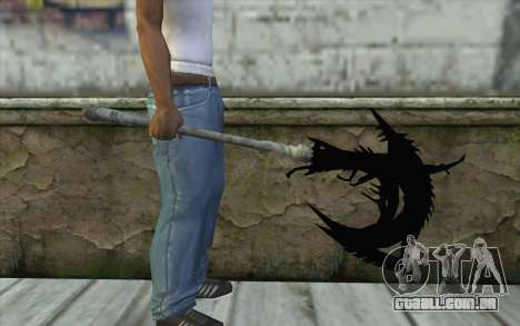 Dante Demonic Axe para GTA San Andreas terceira tela