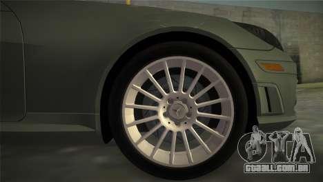Mercedes-Benz SLK55 AMG para GTA Vice City vista traseira esquerda