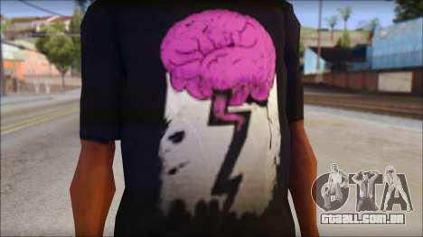 BrainoNimbus T-Shirt para GTA San Andreas terceira tela