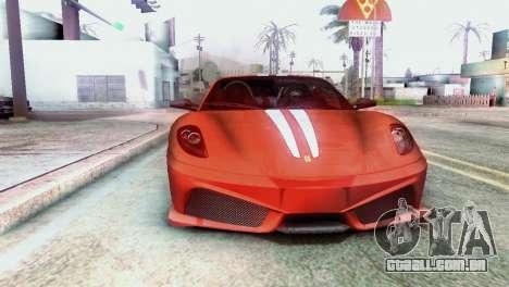 Graphic Unity para GTA San Andreas por diante tela