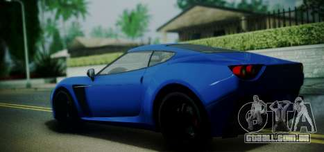 Grotti Carbonizzare from GTA 5 para GTA San Andreas esquerda vista