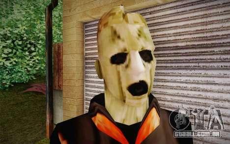 Corey Taylor Skin para GTA San Andreas terceira tela