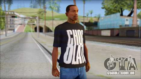 Chocolate T-Shirt para GTA San Andreas