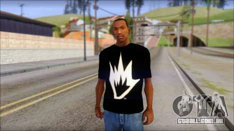 Afends T-Shirt para GTA San Andreas