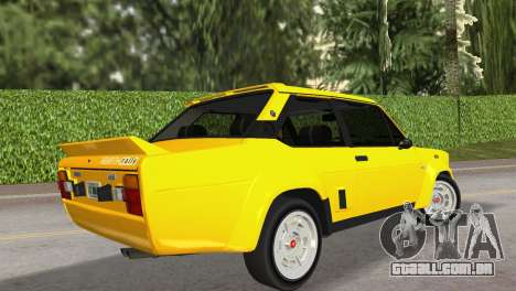 Fiat 131 Abarth Rally 1976 para GTA Vice City deixou vista