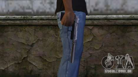 Silenced Combat Pistol from GTA 5 para GTA San Andreas terceira tela