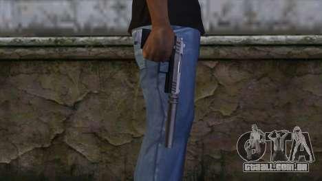 Silenced Combat Pistol from GTA 5 para GTA San Andreas terceira tela