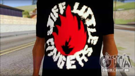 Stiff Little Fingers T-Shirt para GTA San Andreas terceira tela