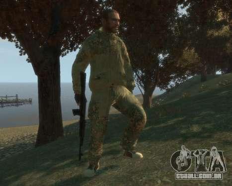Russo camuflagem para GTA 4 segundo screenshot