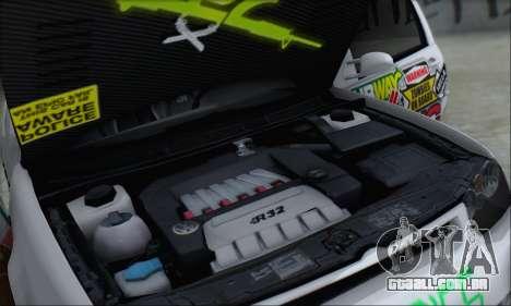 Volkswagen Golf MK4 R32 para o motor de GTA San Andreas